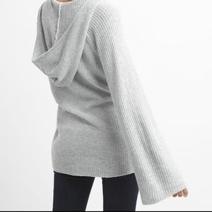 Gap Merino wool Hoodie sweater with bell sleeves